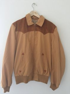 Vintage BW Westernwear Cowboy Style Light Jacket Corduroy -... #CafeMotique #ColoradoSprings #vintagelifestyle #caferacer #vintagemoto