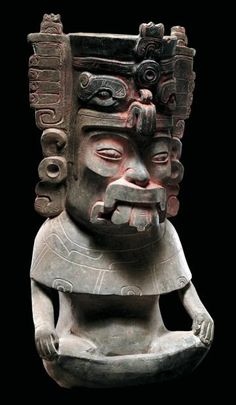 zapotec urns - Google Search                                                                                                                                                                                 More