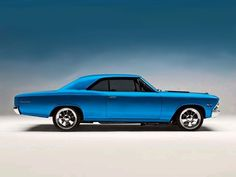 Chevy Chevelle - blue