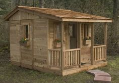 Cozy Cabin Playhouse - So excited to have this in my back yard!!