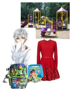 """""""-curls up under the play set;watching it snow- _ootd_Brooklyn_"""" by antis3ptic-y0utub3-an0nz ❤ liked on Polyvore featuring Elie Saab, Huggies and Disney"""