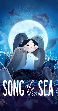 Directed by Tomm Moore.  With Brendan Gleeson, Fionnula Flanagan, Pat Shortt, David Rawle. Saoirse is a child who is the last of the selkies, women in Irish and Scottish legends who transform from seals into people. She escapes from her grandmother's home to journey to the sea and free fairy creatures trapped in the modern world.