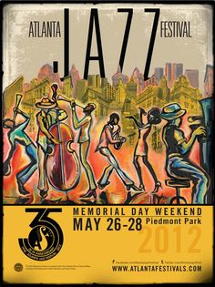 Atlanta Jazz Festival 2012 Are you a Jazz Lover? Get ready as we bring you something intimate infused with a Natural Twist from our Company, Hair 180° www.