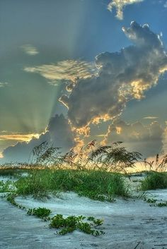 Sunset at Anastasia State Park in St. Augustine, Florida | My Photo | Scoop.it
