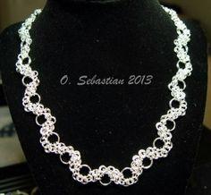 Sterling Silver Nexus Necklace - 18 length | OSebastian - Jewelry on ArtFire
