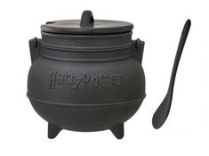 Spoon Pepperup Potion or bouillabaisse out of this cauldron soup bowl. | 29 Products That Will Transfigure Your Home Into Hogwarts