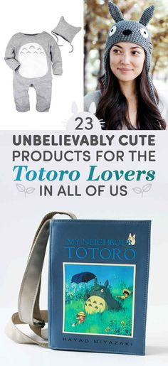 23 Unbelievably Cute Products For The Totoro Lovers In All Of Us