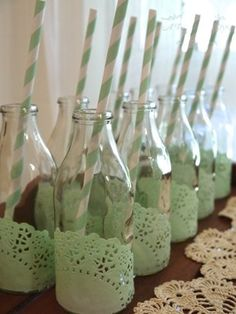 Vintage / Baby Shower or Wedding Shower Baby Shower Verde, Idee Baby Shower, Fiesta Baby Shower, Baby Shower Vintage, Baby Boy Shower, Baby Shower Green, Shower Party, Baby Shower Parties, Baby Shower Themes