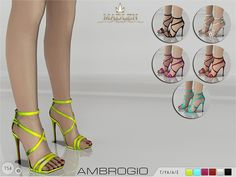 The Sims Resource: Madlen Ambrogio Shoes by MJ95