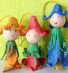 ❤ Tavasztündérek tojástartókból ❤Mindy -  kreatív ötletek és dekorációk minden napra