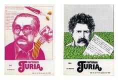 01 Cubiertas para Cartelera Turia Cubiertas para Cartelera Turia. Memoria gráfica de la vida cultural valenciana de 1976 a 1983