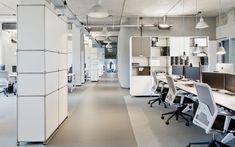 Modulare Büromöbel I Design Möbelbausystem für Grossraumbüros I Projekt Collins GmbH & Co. KG | System 180
