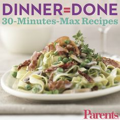 Beat the dinner rush with these delicious recipes your whole family will love.