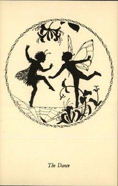 "Medici Elfin Series Postcards: ""The Dance"" Fairies by Margaret Tarrant"