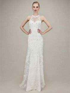 Wedding Dress Photos - Find the perfect wedding dress pictures and wedding gown photos at WeddingWire. Browse through thousands of photos of wedding dresses. Sweet Wedding Dresses, Lace Wedding Dress, 2016 Wedding Dresses, Designer Wedding Dresses, Bridal Dresses, Wedding Gowns, Bridesmaid Dresses, Wedding Dress Necklines, Illusion Dress