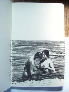 Moleskine #k50 graphite pencil drawing