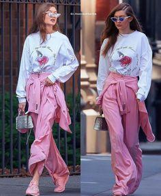 Gigi hadid style Reebook shoes