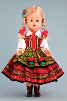 Opoczyn Girl (Opoczynianka) - 18 Inch Collectible Regional Doll  Price : $99.97 http://www.dreamworldcollections.com/Opoczyn-Girl-Opoczynianka-Collectible-Regional/dp/B009JVS0E4