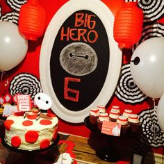 Awesome Big Hero 6 Birthday Party See More Planning Ideas At CatchMyParty