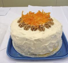 Carrotopia !!  devised this cake for the first Clandestine Cake Club competition