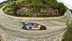 Audi R 8 LMS - Red Bull de Carlos  Sainz no Oval Abandonado de Stiges-Terramar   (Espanha)   2012