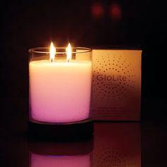 GLOLITE BY PARTYLITE® The World's Brightest Candle™ Illuminez vos instants de bonheur avec nos bougies GloLite, des pots à bougie et des piliers qui brillent d'une lumière chaleureuse du sommet à la base. (Base et pot à bougie GloLite Fruits glacés)