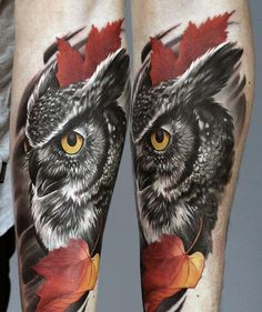 owl tattoos | Today, I'm going to shed some light on the top 70 best owl tattoos ...