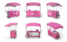 ∙ FROMstudio ∙ on Behance #rollbar #pink