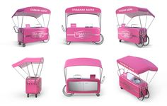 ∙ FROMstudio ∙ on Behance #rollbar #pink