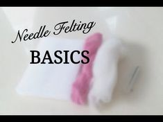 Needle Felted Sleepy Mice - YouTube #needlefeltingtutorials