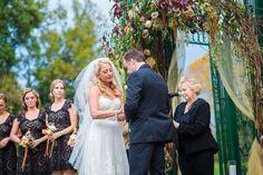 Vows at The Inn at Barley Sheaf Farm | Juliana Laury Photography | Philadelphia + Bucks County Wedding Photography