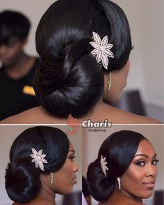 Ombre Hair Color Trends Is The Silver Grannyhair Style African Wedding Hairstylack