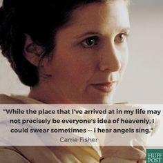 13 Beautifully Honest Carrie Fisher Quotes Every Woman Can Learn From RIP Princess Leia May the force be with you always - coolsexyvibes Princess Leia Quotes, Carrie Fisher Quotes, The Wedding Singer, Body Shaming, I Gen, Finding Happiness, Keep Fighting, The Hollywood Reporter, Movies
