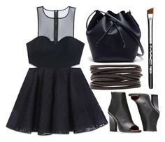 """""""Untitled #443"""" by flawless-willie ❤ liked on Polyvore featuring Bebe, Lacoste, Isabel Marant and MAC Cosmetics"""