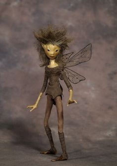 WOODLAND ELF Articulated Faerie Figure by Wendy Froud