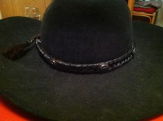 Black Authentic Horse Hair Concho Hatband by OcalaCountryVentures    $29.99