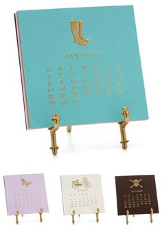 Adorable calendar from Jack and Lulu.  Sweet gifts for preppy friends.