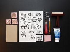diy custom stamps  | Breanna Rose Blog
