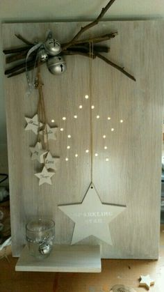 Top 20 Christmas Star Ideas di`light - - You are in the right Noel Christmas, Christmas Is Coming, Rustic Christmas, All Things Christmas, Winter Christmas, Nordic Christmas, Christmas Projects, Christmas Crafts, Christmas Ornaments
