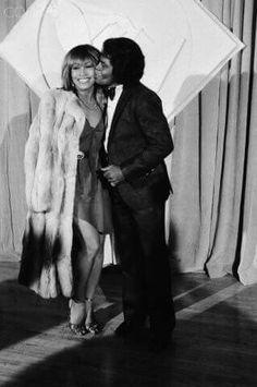 Tina Turner and James Brown