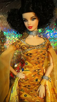 Adele Block-Bauer by Gustav Klimt by possiblezen, via Flickr