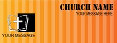 Church Banner #8007 Church Banners, Your Message, Names, Messages, Movie Posters, Film Poster, Text Posts, Text Conversations