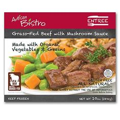 Artisan Bistro Grass-Red Beef in Mushroom Sauce: We taste-tested healthy frozen meals. Here are the freshest, healthiest and most appetizing microwavable dinners.