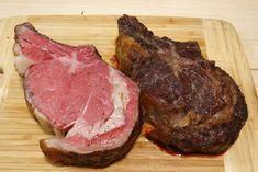 This recipe works for prime rib roasts any size from 2 ribs to 6 ribs. Plan on 1 pound of bone-in roast per guest (each rib adds 1.5 to 2 pounds to the roast). For best results, use a dry-aged,...