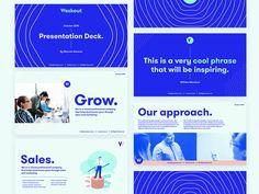 Weskout: Pitch deck design by Erick Chévez / VÚO Presentation Slides Design, Pitch Presentation, Slide Design, Business Presentation, Presentation Templates, Design Presentation, Keynote Design, Brochure Design, Branding Design