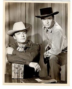 Audie and Guy Mitchell in Whispering Smith