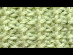 Начинаем вязать – Видео уроки вязания » Сложный тунисский узор – Тунисское вязание – Узор №37