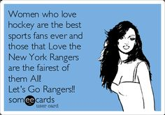 Image result for ny rangers fans are the prettiest