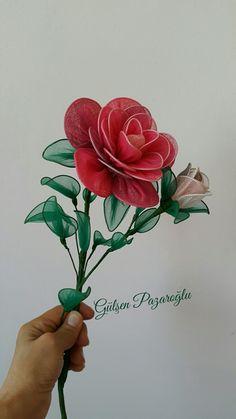 Tülden Çiçek Gül Çalışmam