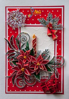 neli-blog in Russian:  DIY Tutorials on Quilling these flowers, twigs, etc. ++++ so many more embellishments etc.  Eye candy for sure!   Quilling is actually easier than it looks.  Try something new!  I just used an old wooden chopstick to start!
